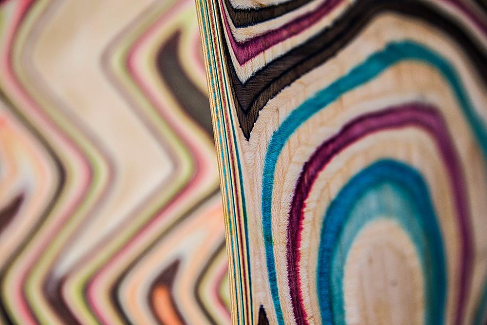 wood couture, נטע אשרי, פרט. צילום: מאיר קרמר