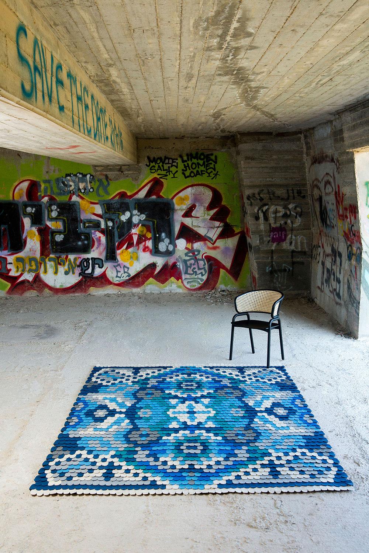6 producks, scale rug, צילום: מיכאל טופיול