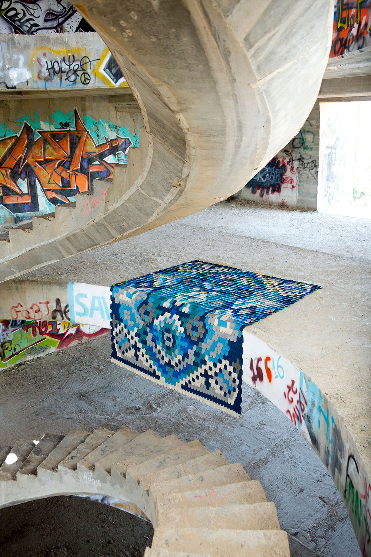 7 producks, scale rug, צילום: מיכאל טופיול