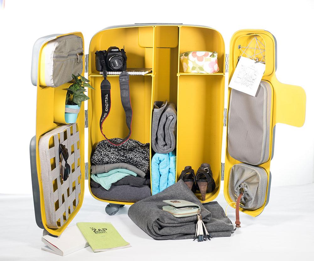 המזוודה של זיבנברג. ארון ביתי קטן בכל מקום ובכל זמן