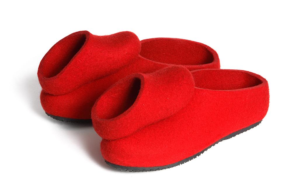 נעלי הריקוד האדומות. נעלי לבד להורה וילד