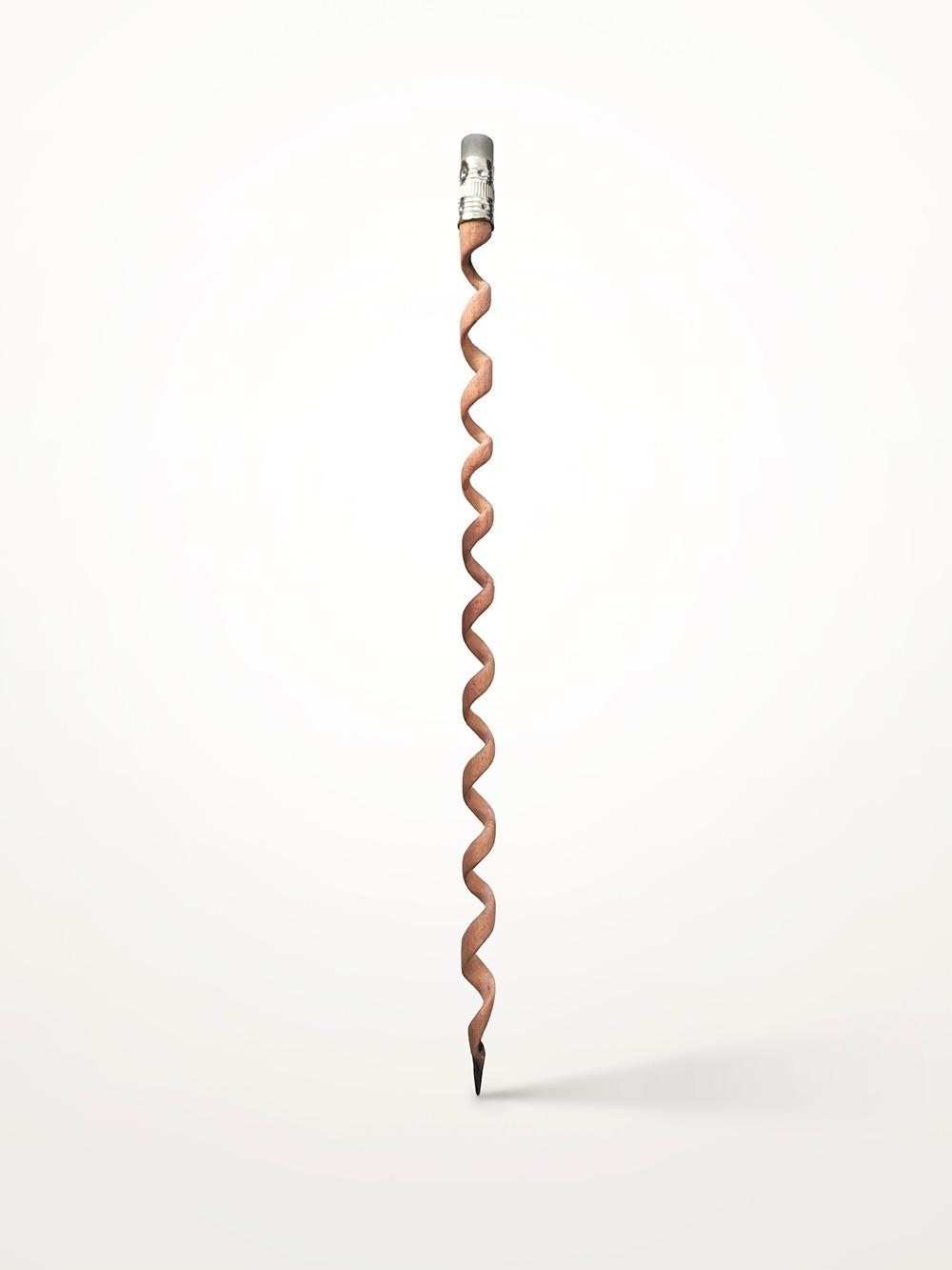 העיפרון של אבי פדידה (ספירלת עץ)