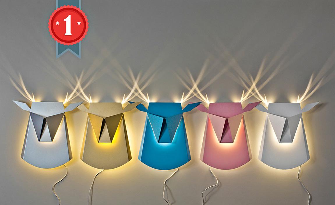 מנורות ראשי אייל צבעוניים, חן ביקובסקי, תמונה ראשית