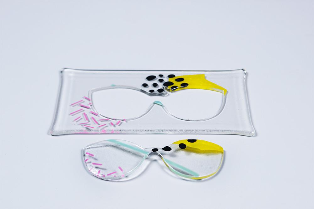 """משקפי הזכוכית שעיצבה שמיע ל""""מבט על"""""""