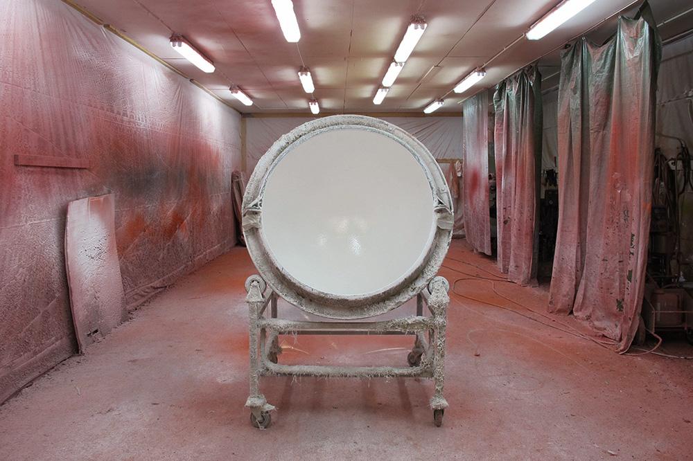 תבנית כיסא הכדור. צילום: colombo kokkonen. באדיבות מוזיאון העיצוב של הלסינקי