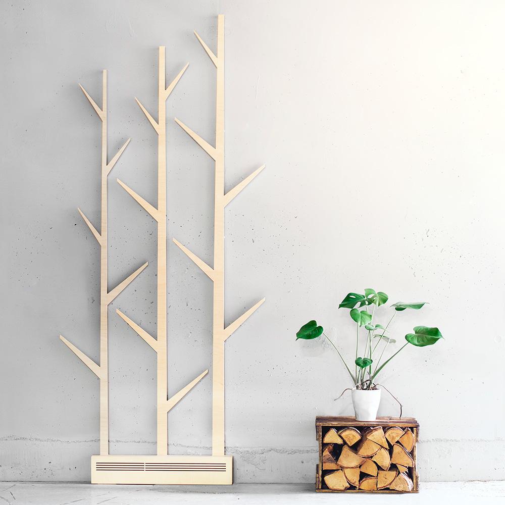 Korpi היא מנורת אווירה מלבידי לבנה, היא מספקת אור לד לא ישיר, ועיצב אותה Satu Enstedt, המעצב מאחורי Sagalaga Design