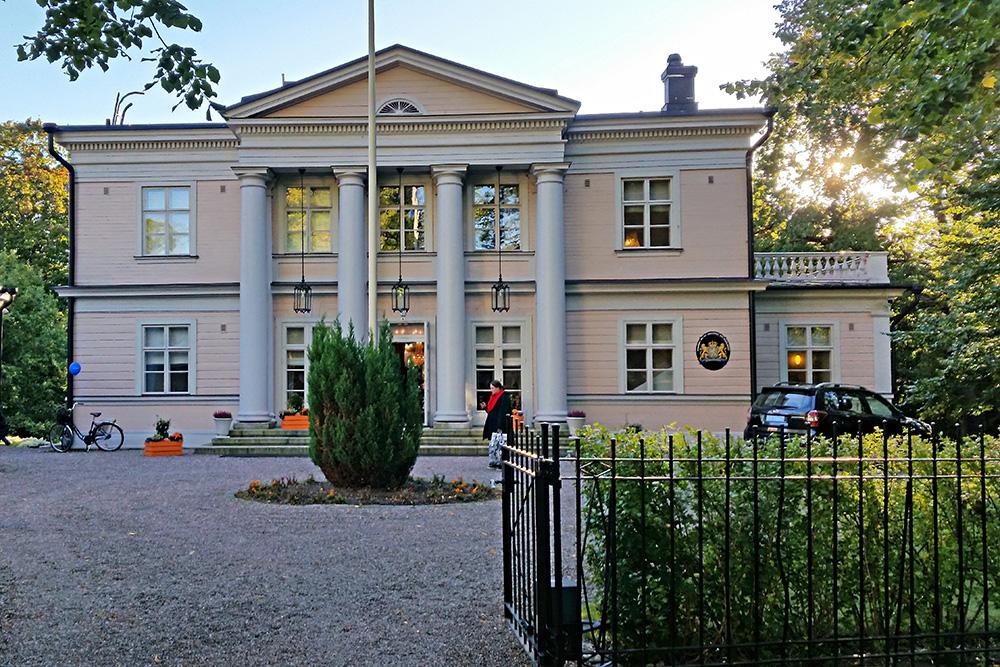 בעתיקה בשכונה. וילה קליינה, בית השגריר ההולנדי