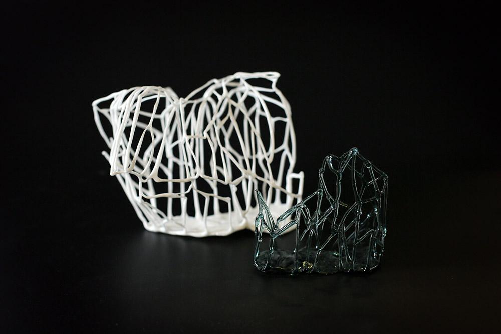 עבודות זכוכית של יעל וולך